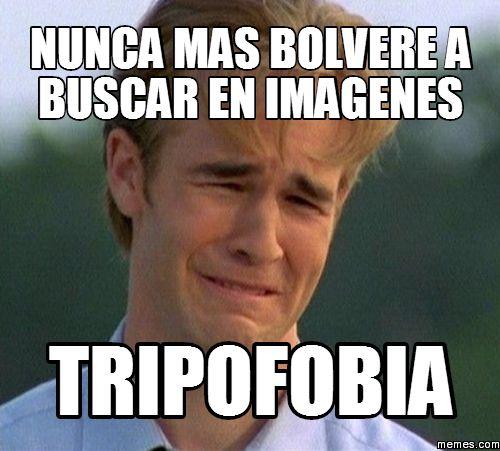 Tripofobia, Te Animas a entrar?
