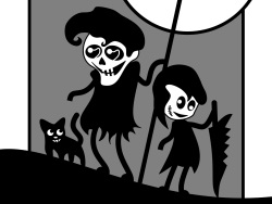 Obraz Mr. Death and his Little Helpers