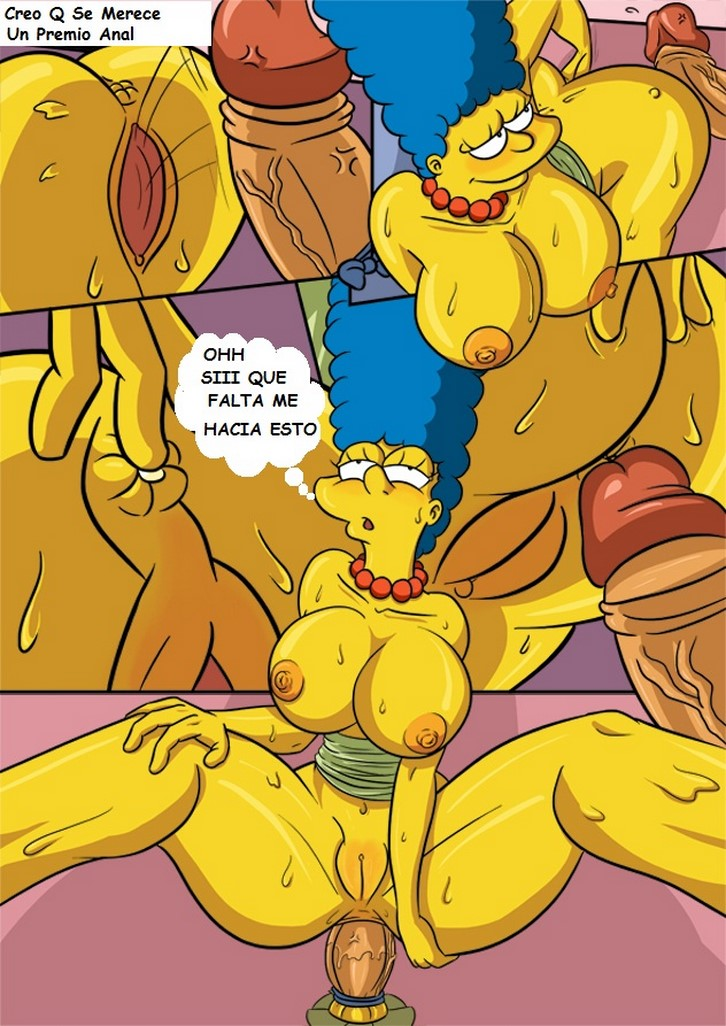 бесплатно порно комиксы симпсоны