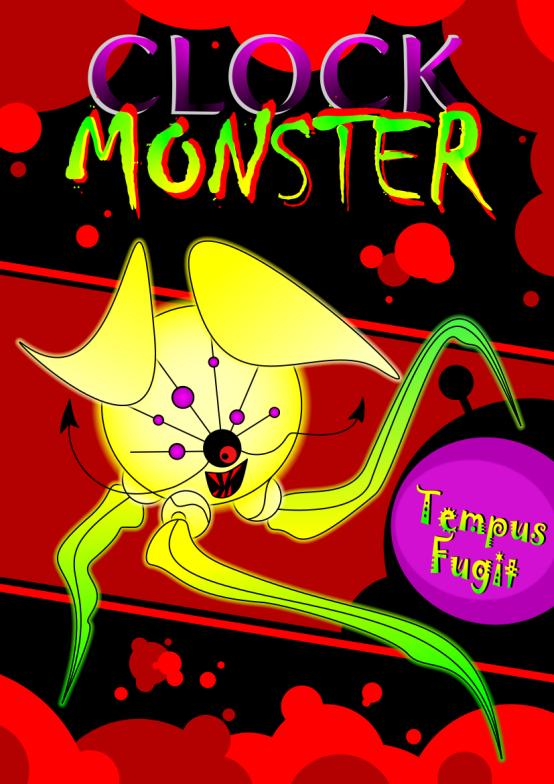 Obraz Clock Monster