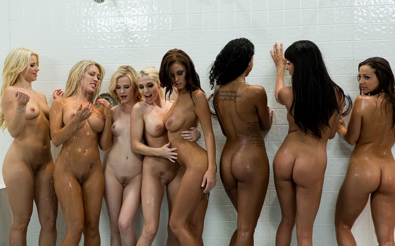 naked bunch of bitches