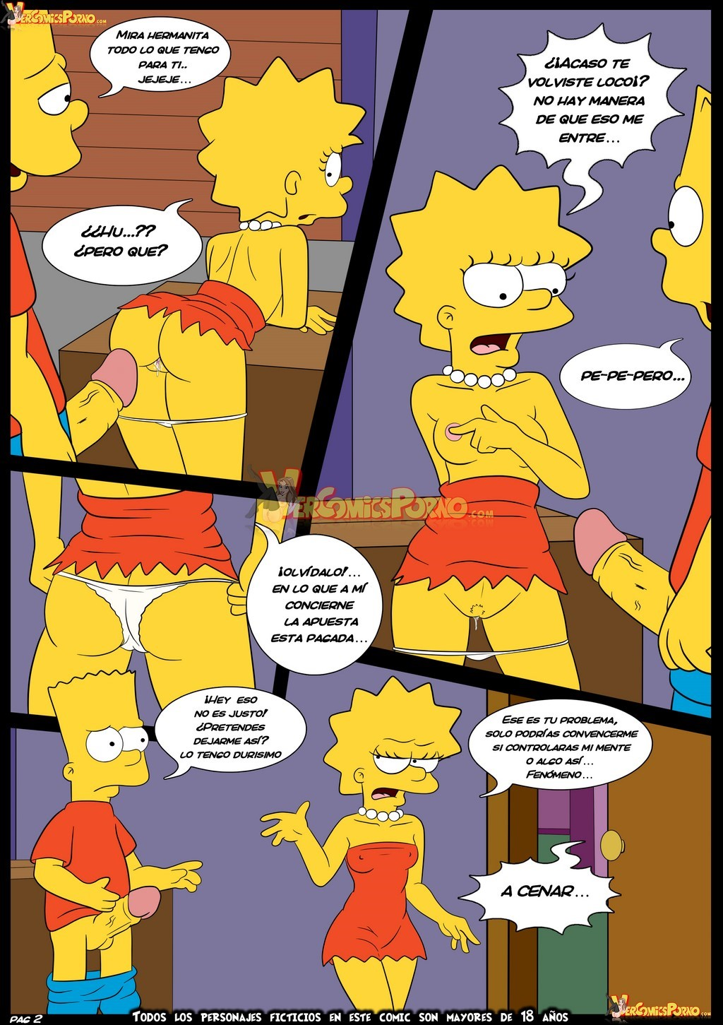 simpsons porno Croc,Simpsons- Love to braggart (English) ⋆ Porn Comix Online.