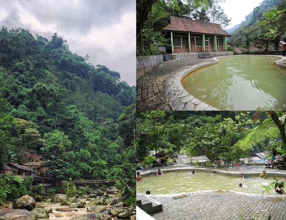 Wisata Bogor: Pemandian Air Panas Ciparay Gunung Salak Endah