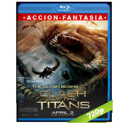 Furia De Titanes 720p Lat-Cast-Ing 5.1 (2010)