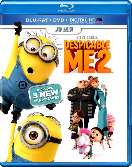 Bjaurusis Aš 2 / Despicable Me 2 (2013) [BDRip LT/EN/LTSubs] Animacinis / Komedija / Šeimai
