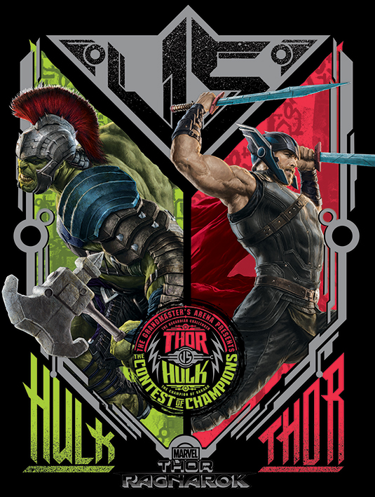 new thor ragnarok promo art has the god of thunder amp the