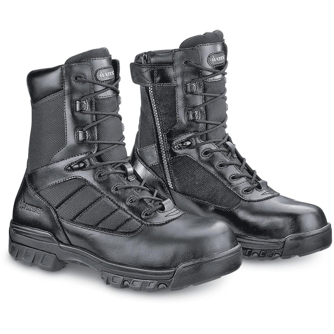 Bates® Black 8'' Tactical Police Duty Military Boot with ... - photo #19