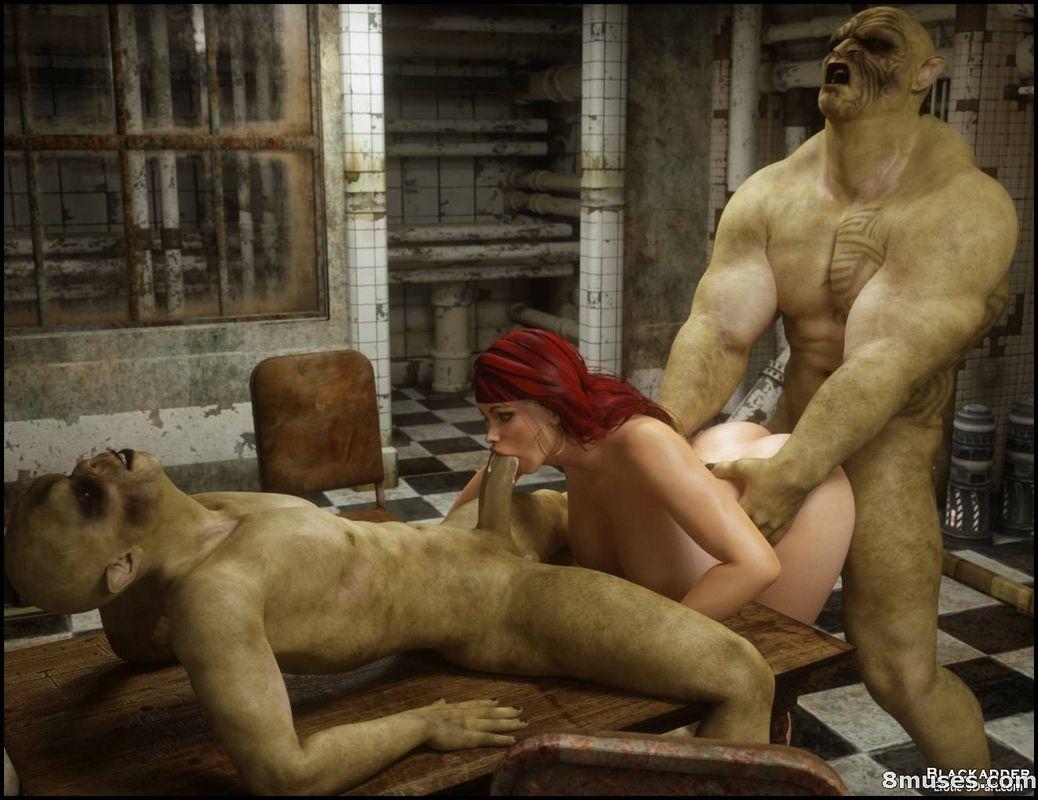 Girl zombie rapes guy hentai porncraft scene