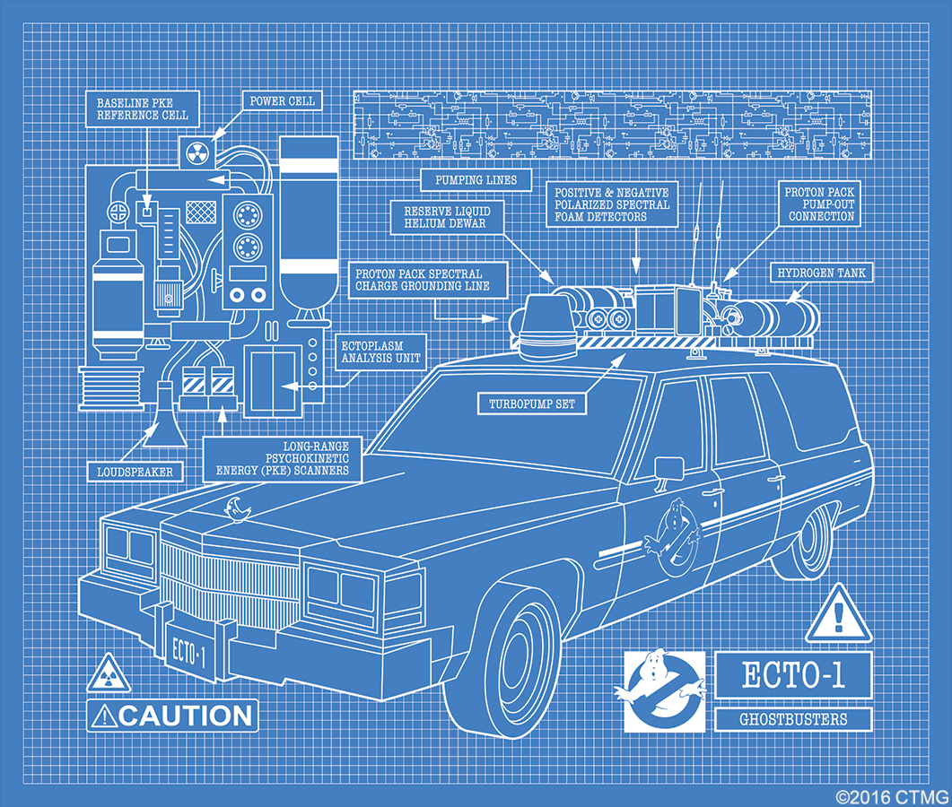Ghostbusters Viral Site Unveils Behind The Scenes Featurette With Todd Engineering Schematics Image Host