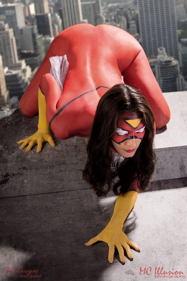 El cosplay de Spider-Woman de Ivy-Cosplay