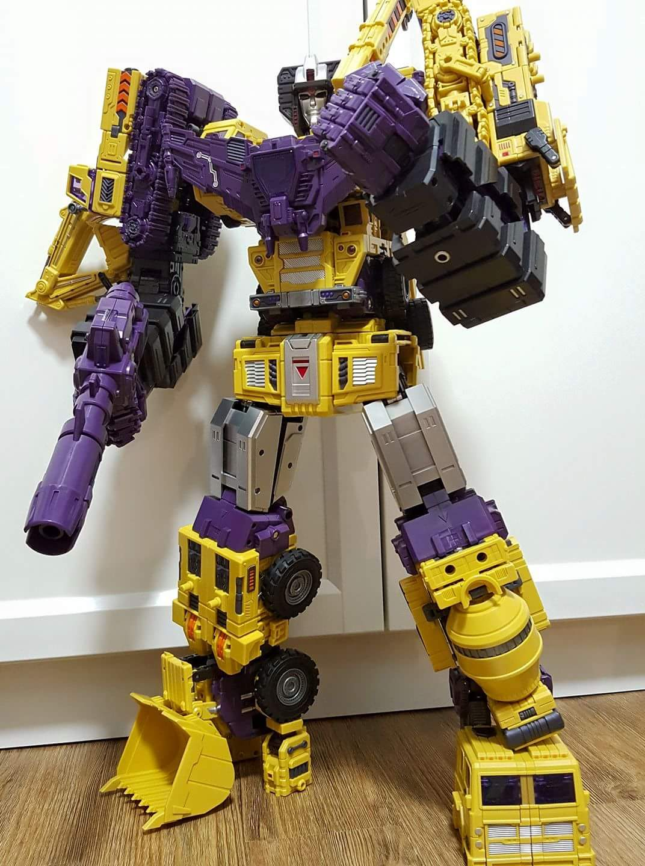 [Toyworld] Produit Tiers - Jouet TW-C Constructor aka Devastator/Dévastateur (Version vert G1 et jaune G2) - Page 8 NZlOS0kd