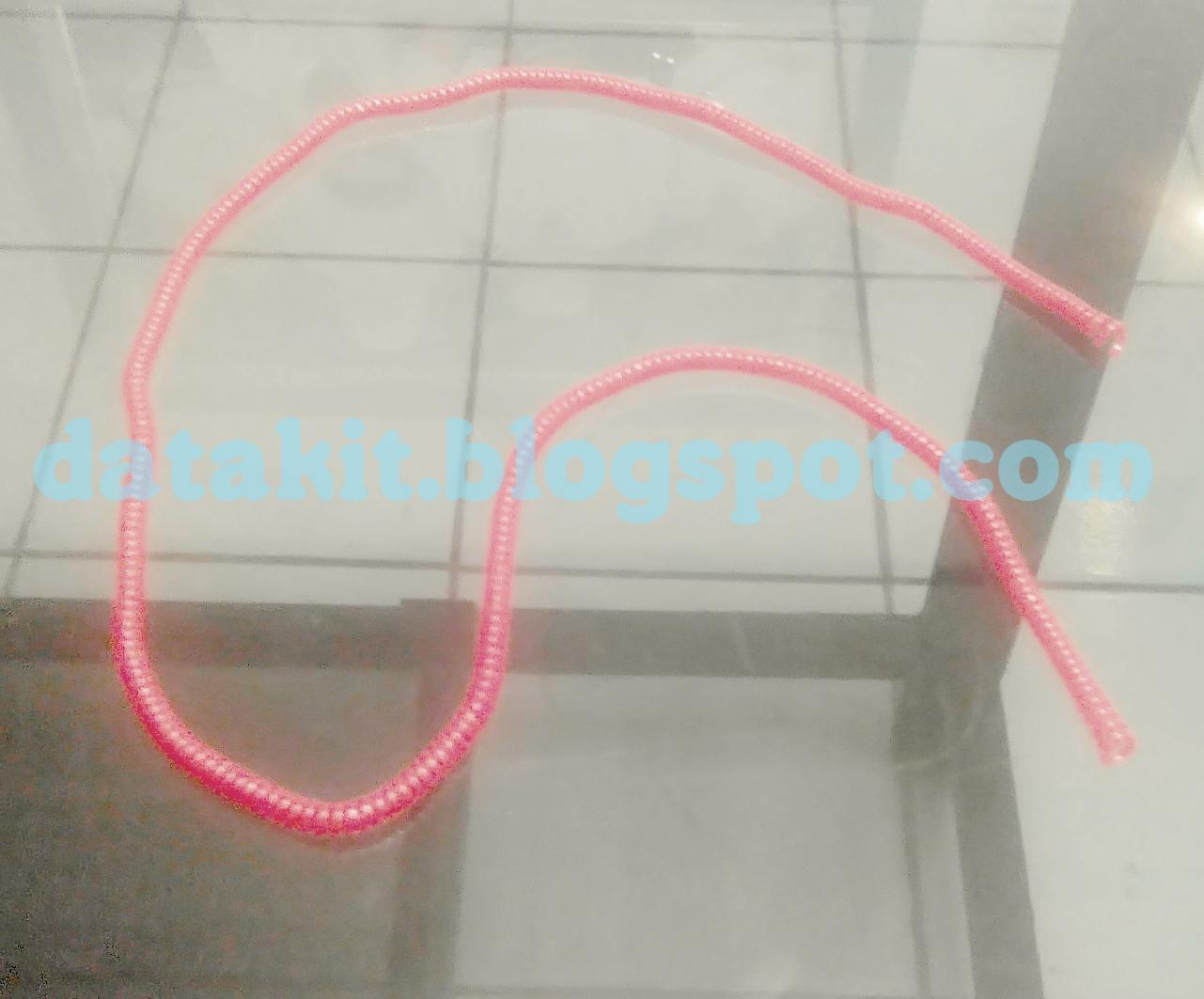 bentuk, penampakan, kabel, protektor, spiral, cable