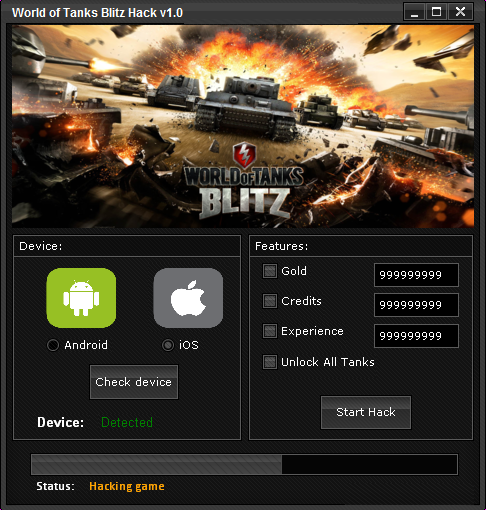 Permalink to World of Tanks Blitz Hack Tool (Android / IOS).