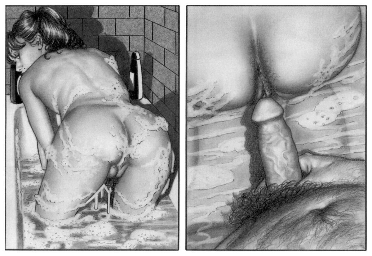 Чёрно белые инцест комиксы, Инцест комиксы 45 фотография