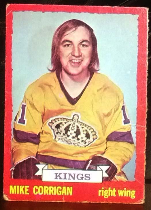 Mike Corrigan - 1973-74 OPC