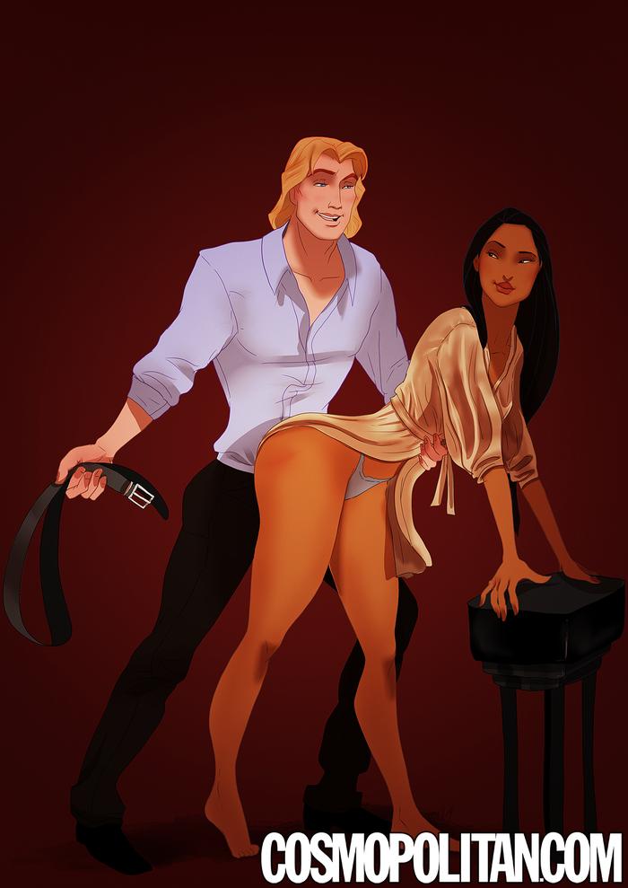 Pocahontas porno Capitán Smithimgbox