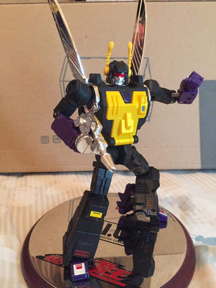 [Fanstoys] Produit Tiers - Jouet FT-12 Grenadier / FT-13 Mercenary / FT-14 Forager - aka Insecticons - Page 4 P0wCRbUz