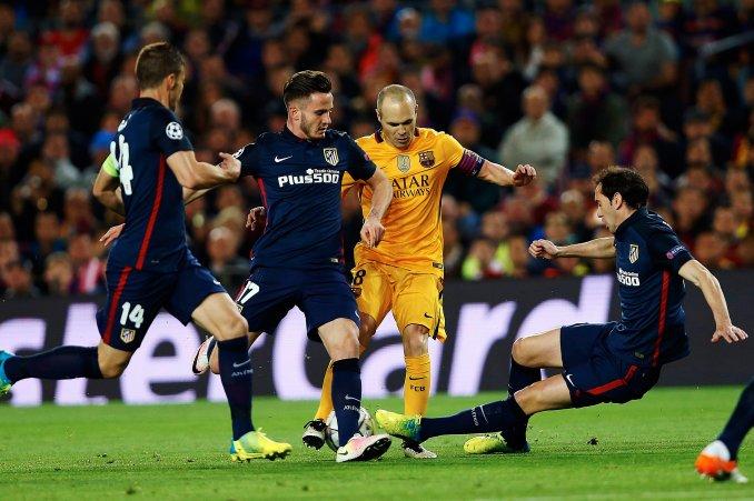 Atletico recibe al Barcelona por un lugar en semifinales