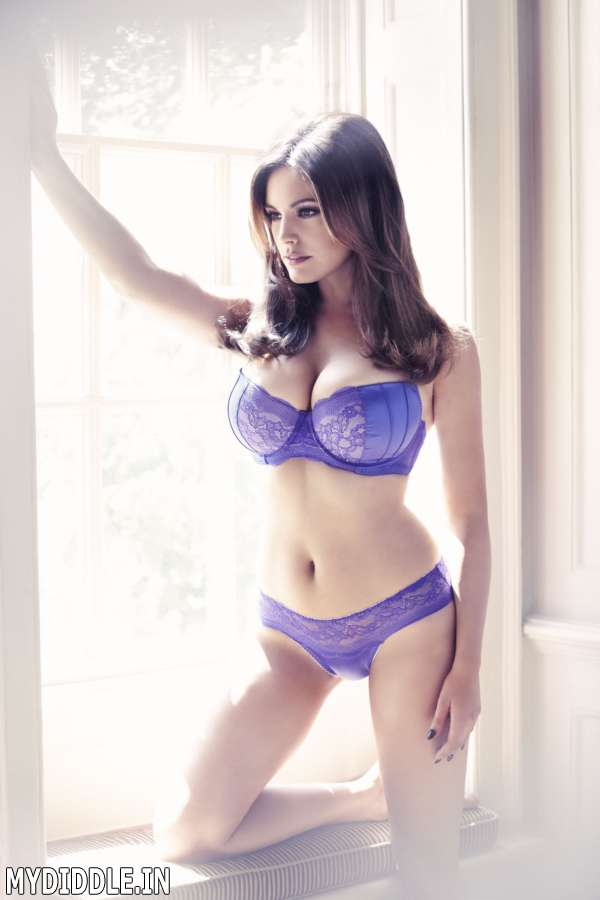 Mydiddle Kelly Brook New Look Lingerie Photoshoot
