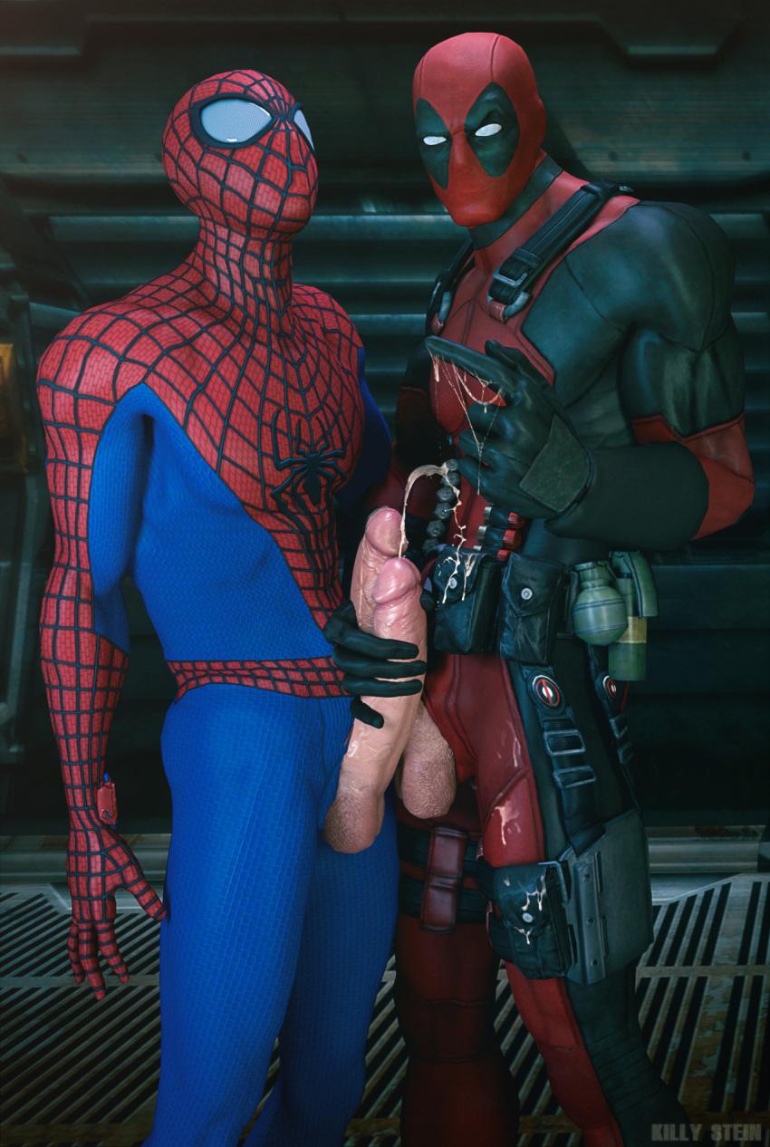 Deadpool spiderman porn x