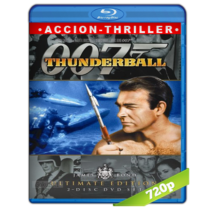 007 Operacion Trueno (1965) BRRip 720p Audio Trial Latino-Castellano-Ingles 5.1