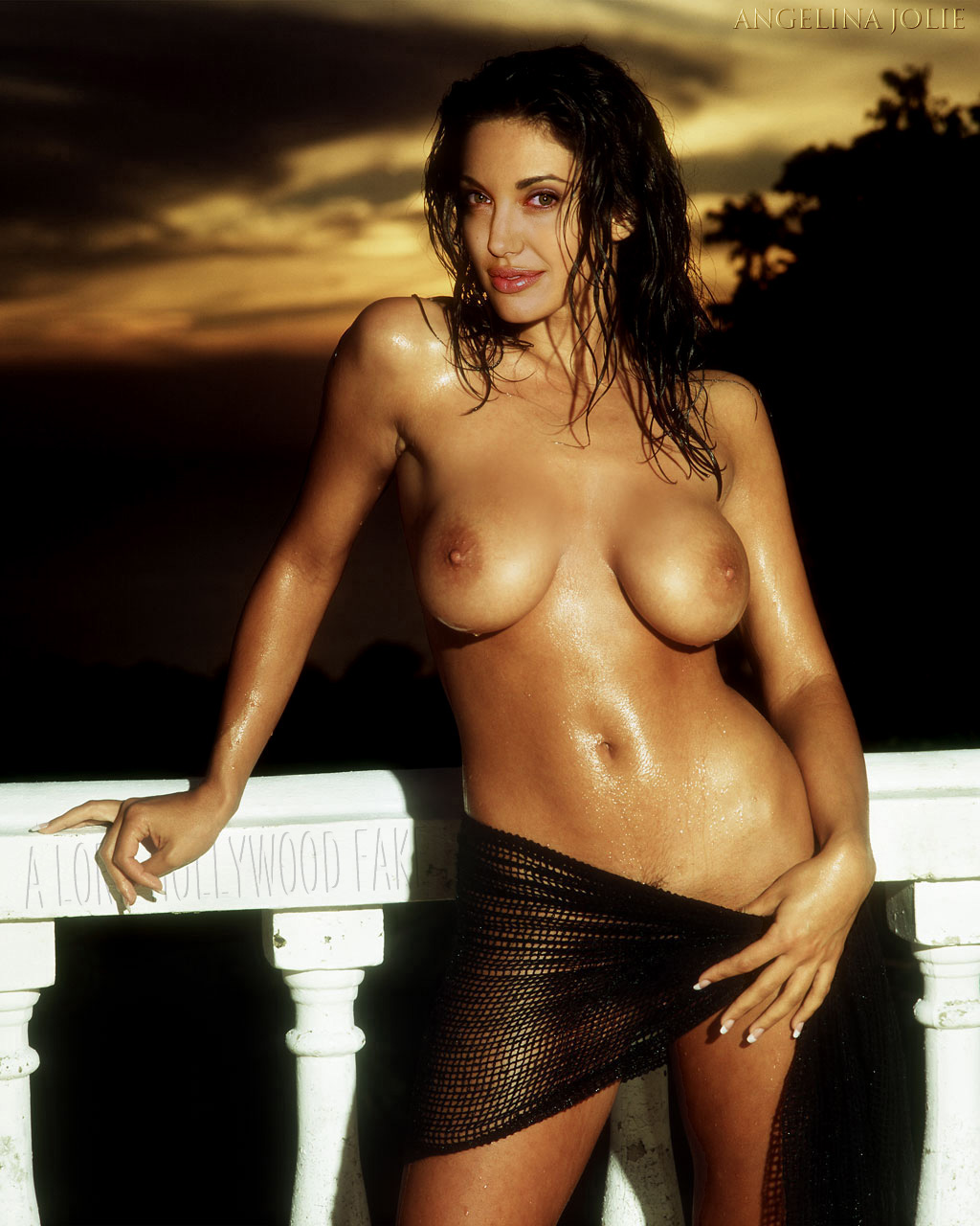 Naked angelina jolie nude
