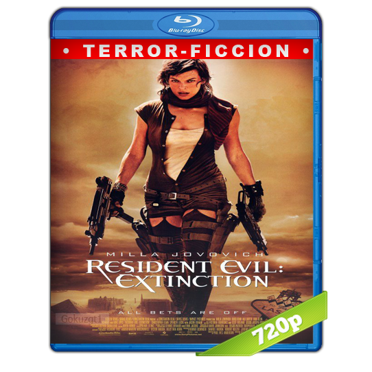 Resident Evil 3 La Extinction HD720p Lat-Cast-Ing 5.1 (2007)