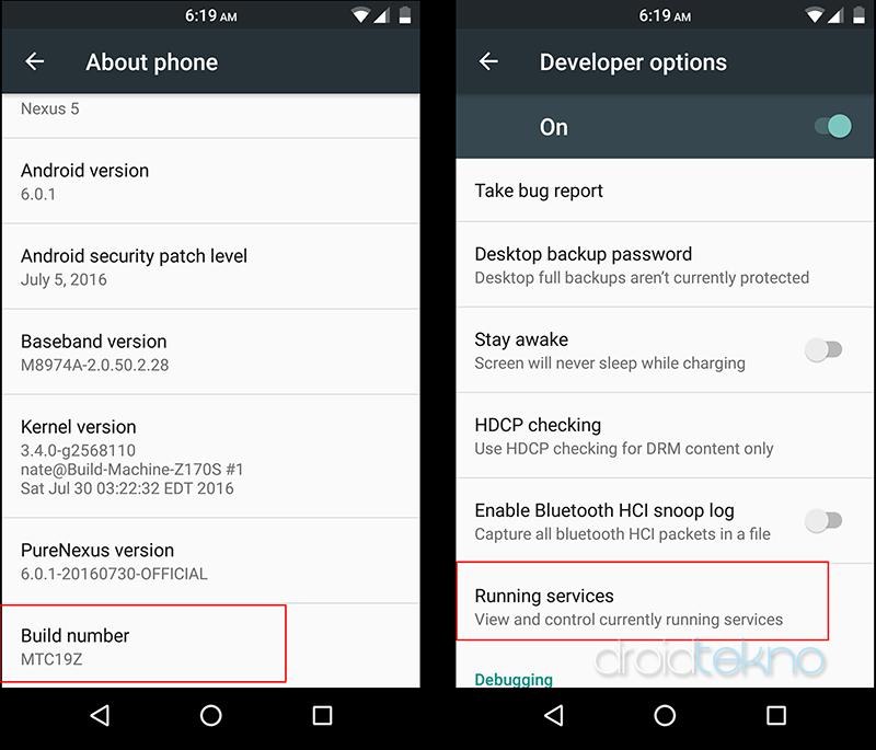 Hemat Baterai Android dari Aplikasi yang Menguras Baterai dan RAM_developeroption