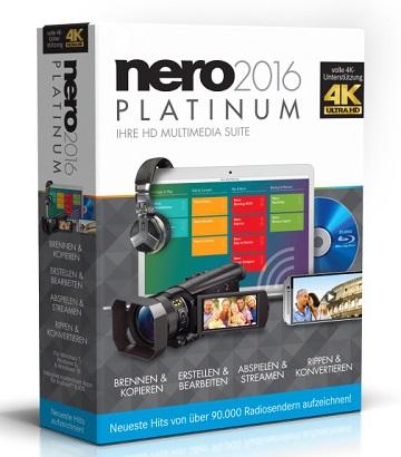 Nero 2016 Platinum (Multi) (+Patch)  [1 Link] [MEGA]