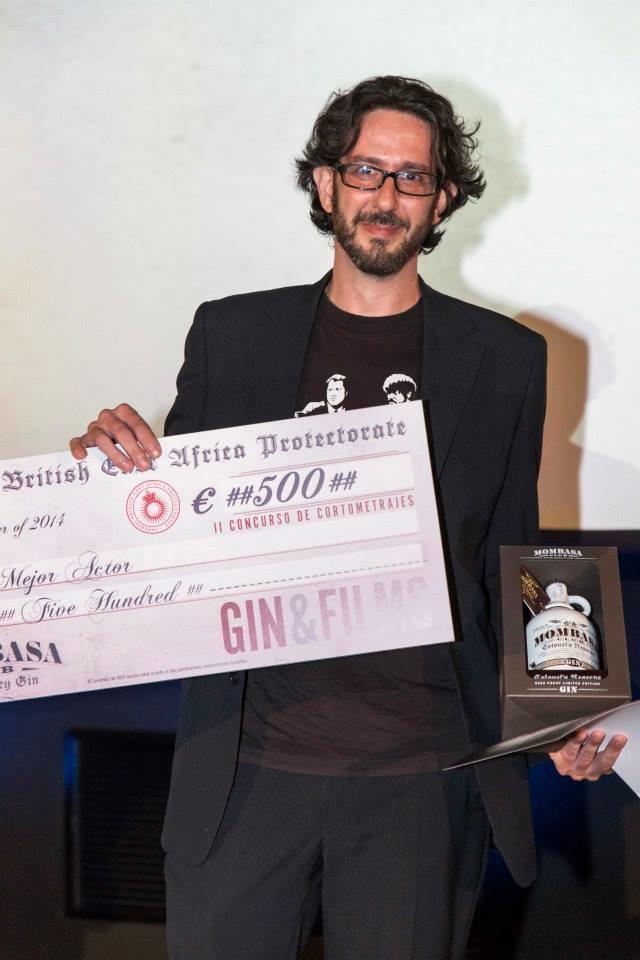 Mejor actor Premios Cortos Gin Mombasa 2014