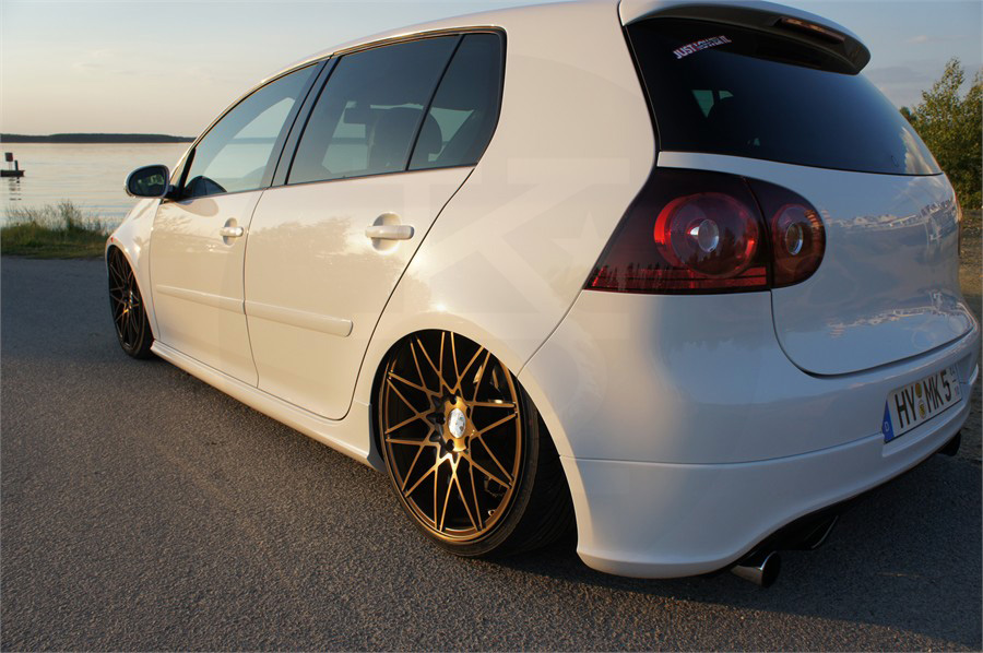 klutch wheels km20 on volkswagen golf gti