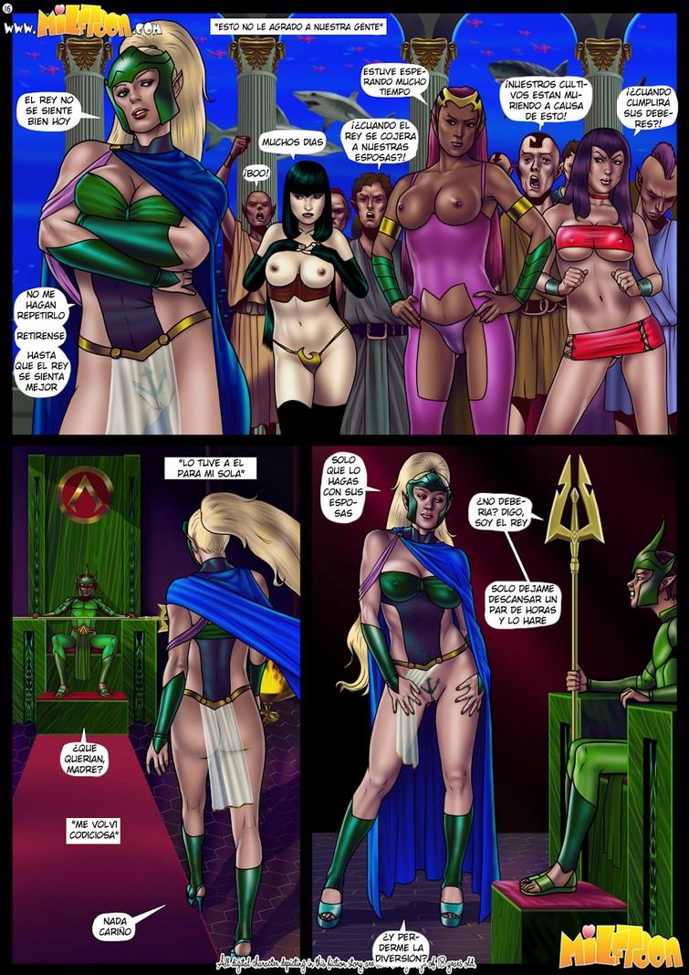 Comic porno de Milftooon – Milfantis