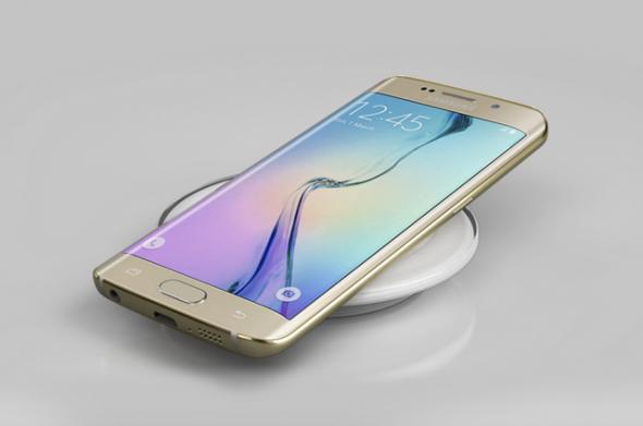 Wireless charging Galaxy S6