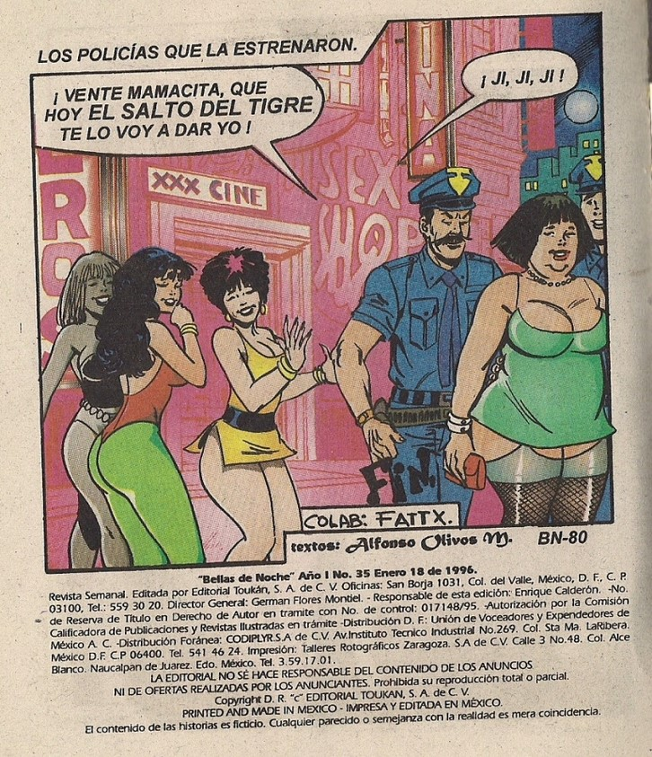 Revista porno Bellas de noche 35