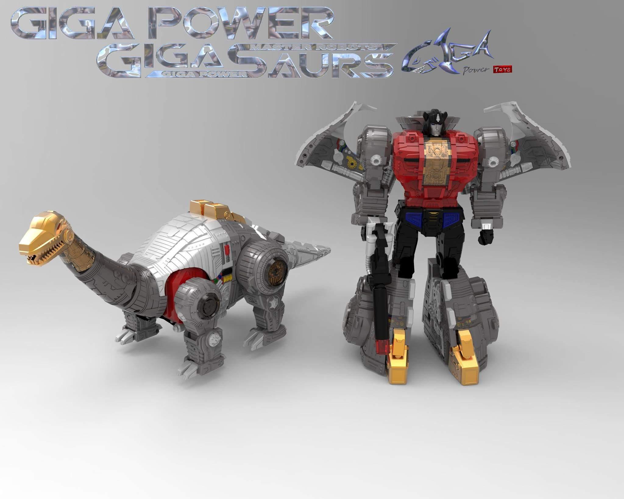 [GigaPower] Produit Tiers - Jouets HQ-01 Superator + HQ-02 Grassor + HQ-03 Guttur + HQ-04 Graviter + HQ-05 Gaudenter - aka Dinobots - Page 5 GDtQ9zDI