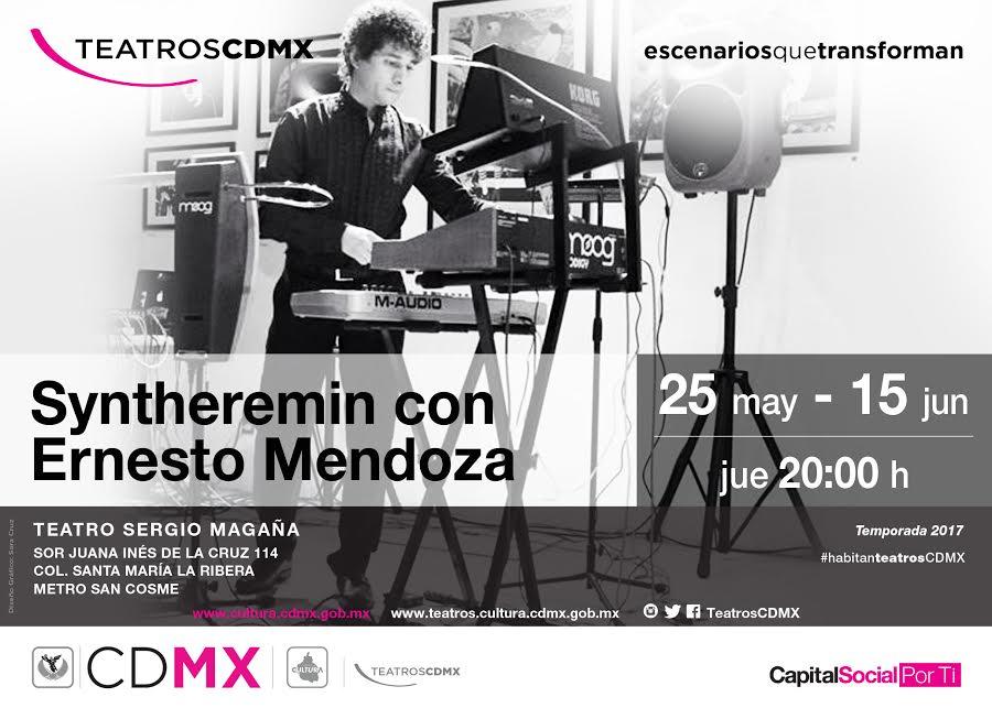 Ernesto Mendoza, el único músico mexicano en tocar el the