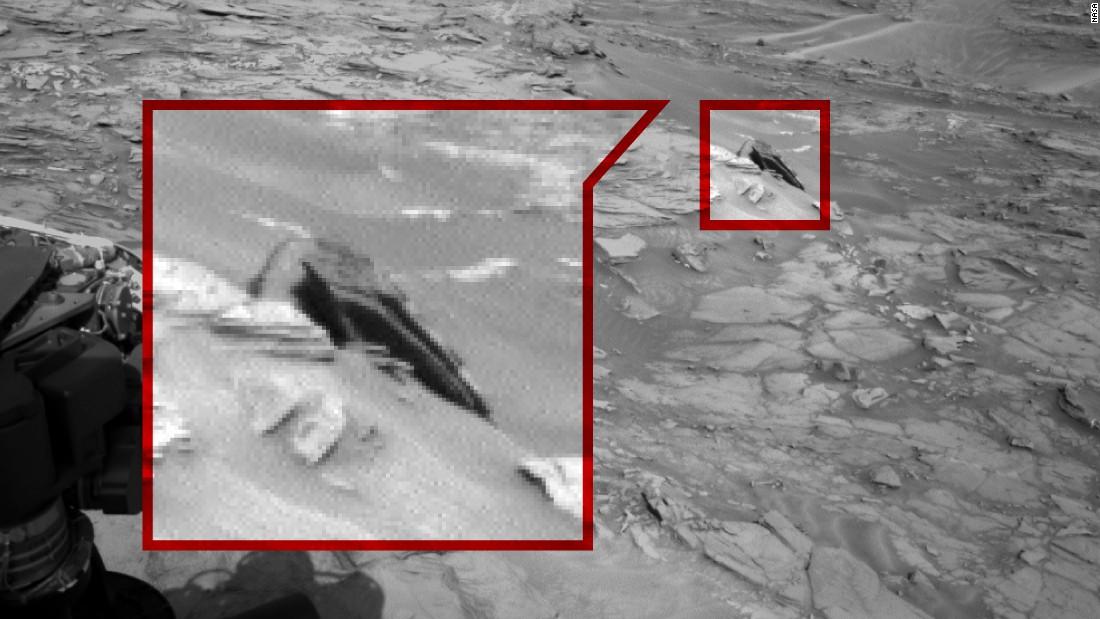 14 cosas extrañas vistas en la superficie de Marte