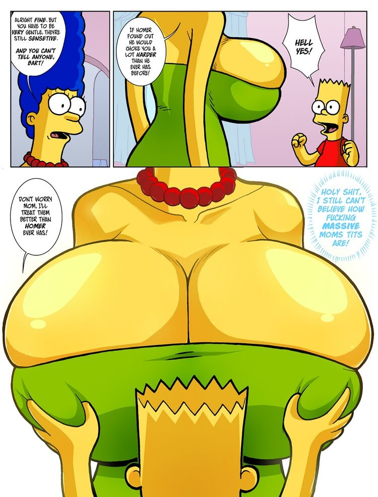 The Simpsons Porn Comic