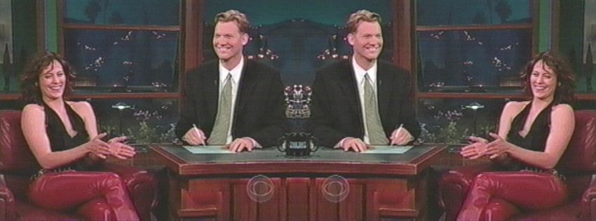 THE LATE, LATE SHOW AroxJdeV