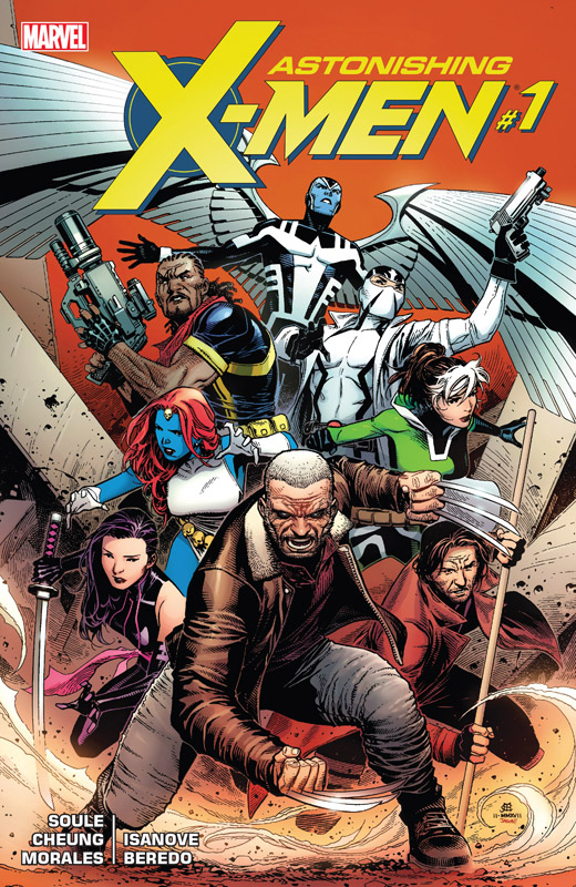 Astonishing X-Men 001 (2017)