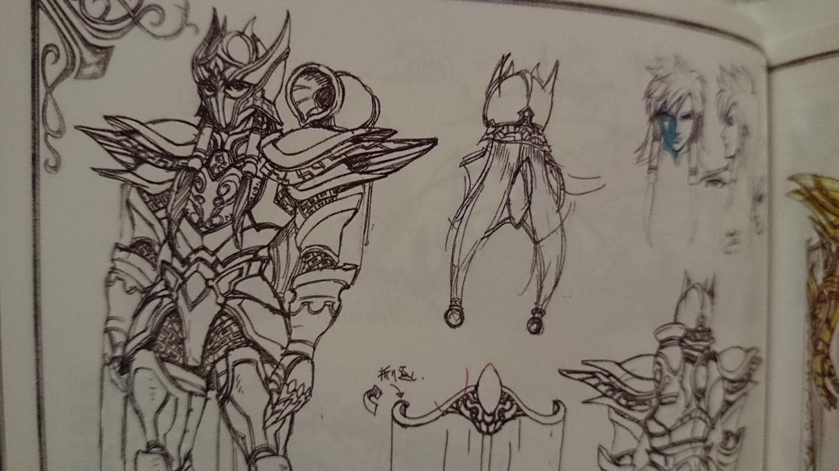 Artbook Saint Seiya Legend of Sanctuary YuEN0qSt