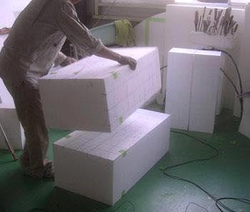 Processo de criação da Armadura de Gemeos para a exibição de Pachinko BdggHs11