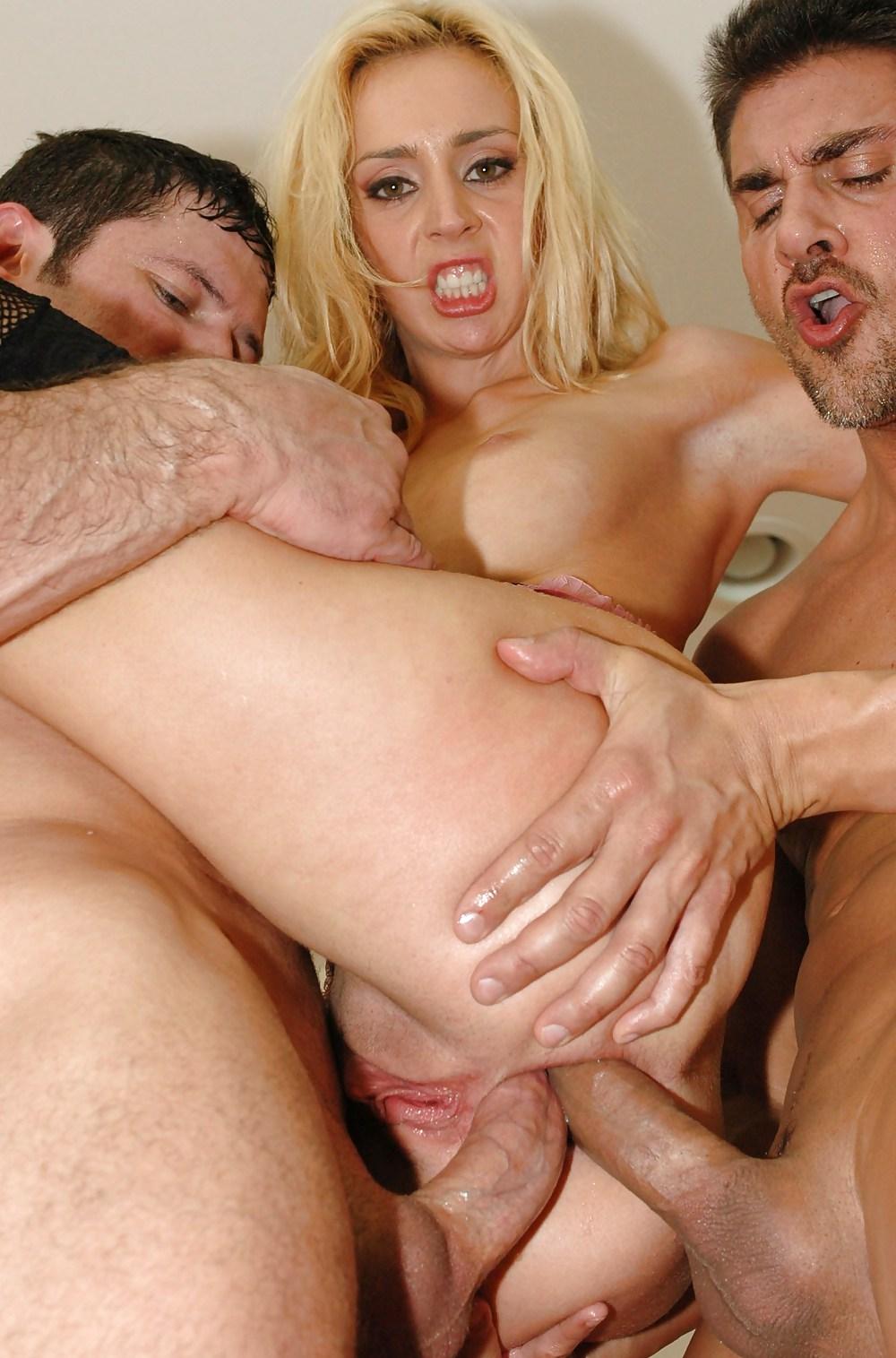 Triple penetracion