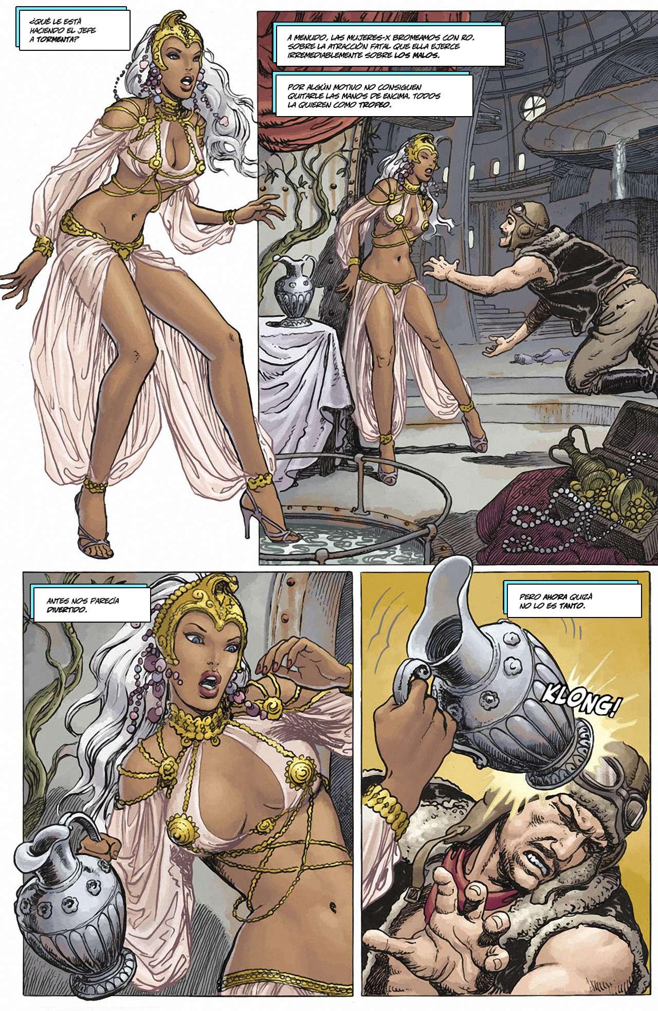 Milo Manara X-Men Mujeres en peligro
