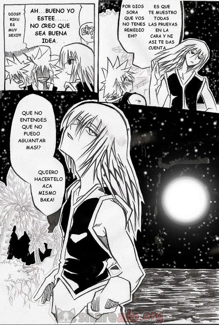 [ Unknown Kingdom Hearts Yaoi Doujin (Sora y Riku Sexo Caliente) ]: Comics Porno Manga Hentai [ fXDijeJS ]