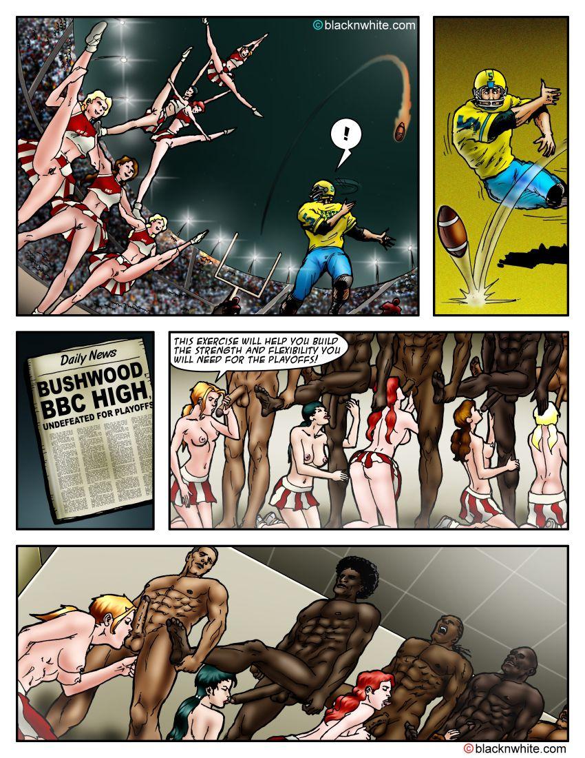 BlackNWhite Comics – BBC High – The Head Cheerleader 1-3