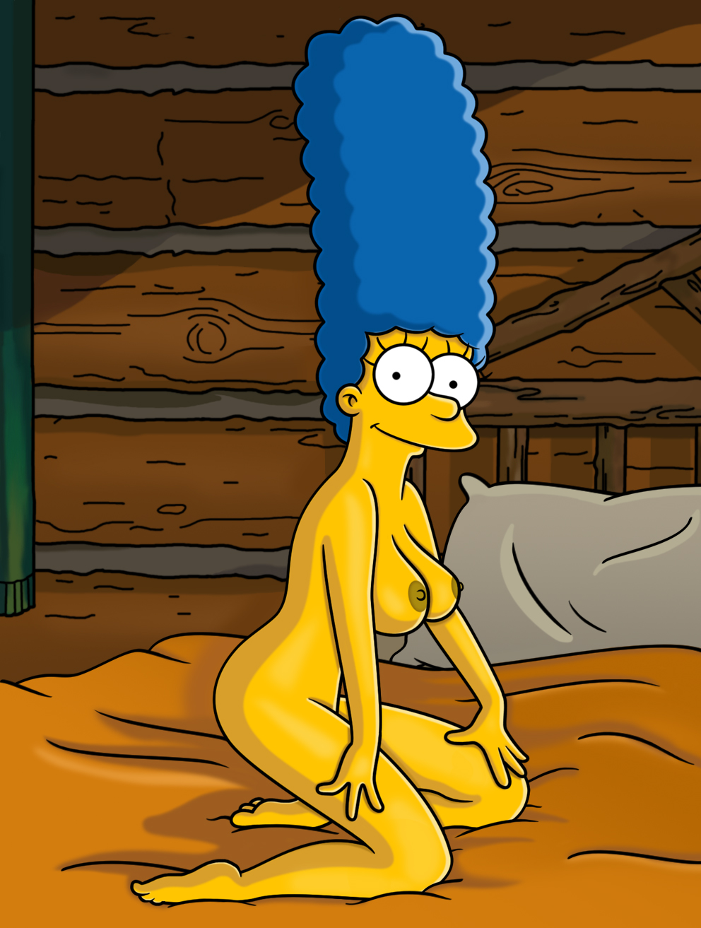 Lisa And Marge Simpson Comic