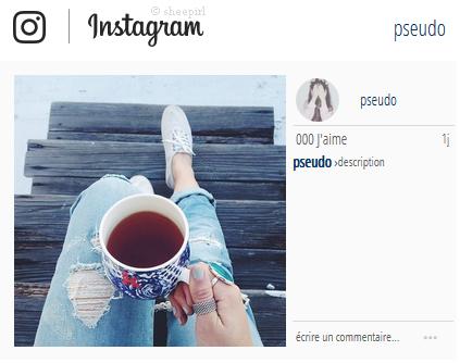 Annexe 18 - Formulaire d'instagram  XaqMdfPp