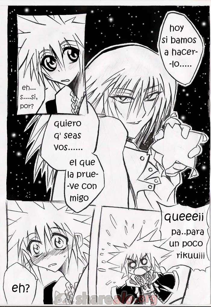 [ Unknown Kingdom Hearts Yaoi Doujin (Sora y Riku Sexo Caliente) ]: Comics Porno Manga Hentai [ zqi1CRL9 ]