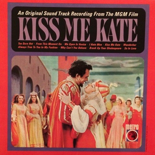 (Musical) [LP] [32 / 192] Kiss Me Kate (Original Sound Track Selections) MONO - 1953, WavPack (tracks)